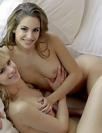 Cock Craving Fillies Kimmy Granger And Jillian Janson Enjoy A Lusty Hardcore Threesome With Plenty O