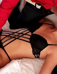 Horny Anna Rose Lets Her Man Tie Her Up And Take Her On A Sensual Journey As He Seduces Her Tits And