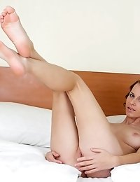 This Sweetheart Really Knows How To Give Pleasure For Her Lover. Seductive Nude Posing That Boil Up