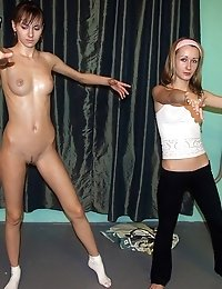 Would-be ballet dancer and her horny teacher
