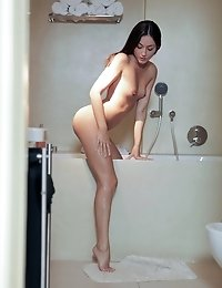 After A Warm Wet Bath Iwia Jumps Her Mans Bones For A Horny Blowjob And A Wild Sensual Romp In Her L