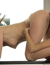 Watch Brunette Beauties Gabi And Caprice Eat Each Other Out And Use Their Expert Fingers On Each Oth