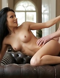 Super Sweet Mindy Gets Her Mans Attention With A Sultry Striptease Then Gives Him A Stiffie Ride In