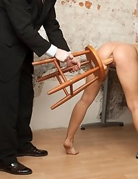 Toy sex interview of secretary vagina and mouth