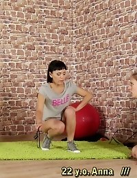 Ball gag and face harness for better exercising