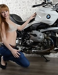 She Likes To Play Around With Men Toys And Just Love To Ride With Insane Speeds, Bouncing Her Teen B