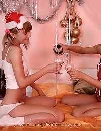 Happy Barely Legal Lesbian Christmas