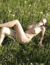 The Loveliest Teen Girl Enjoys Her Nudity Outdoors, Showing Her Body Without Any Commitments.