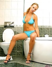 Perfect Teen Body Waiting For Fun In The Shower