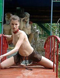 The Idea Of Posing Nude In Front Of The Camera Makes Passionate Teen Girl Feel About To Lose Her Min