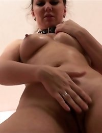 Lesdom nude training of a lazy sports slut