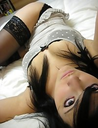 My ex-girlfriend loved taking pics of herself