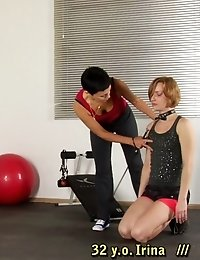 Disciplining special exercises for a lazy gymnast