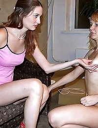Humble blonde trainee pleases her perverted coach