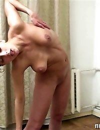 A naked set of boobs increasing exercises
