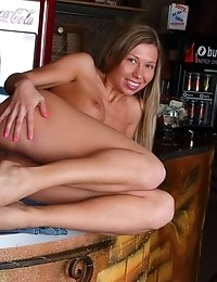 This Naughty Teen Pleases Herself In A Coffee Shop, Just Because She Loves To Masturbate In Public P