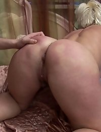 Blonde sleeping housewife fucked artfully