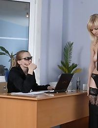 Interview with strip task for a candidate