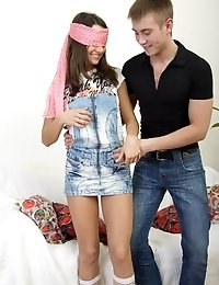 Shy And Charming Teen Girl Looses Her Innocence.