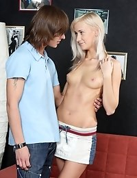 Nasty Blonde Gives No Rest To Her Perfect Holes And Gets Her Starved Mouth Filled Up With Sticky Cum