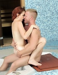 Cum Craving Redhead Amarna Miller Gives A Hungry Eager Blowjob And Then Gets Her Creamy Wet Pussy Fu