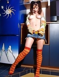 Naughty Teen Babe Wants To Prove You That She Is The Best Teen Dancer On The Web And Dances Being Nu