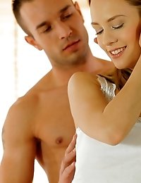 Sweet Blue Angel Fulfills Her Desires When A Tender Caress From Her Lover Turns Into A Steamy Mornin