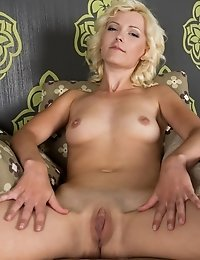 Even An Armchair Can Be Sexy And Attractive When A Blonde Cutie Likes Her Strips And Teases In It Wi