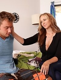 Buxom Julia Ann Decides To Help Her Stepson Learn How To Satisfy The Sexual Needs Of His Spinner Gir