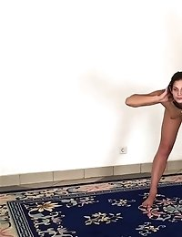 Special gymnastics and masturbation exercises for girls