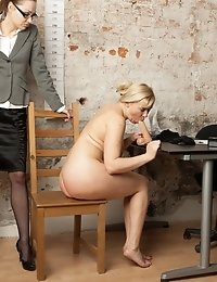 Double dildo penetration and more humiliating tests