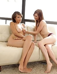 Buxom Beauty Cassidy Banks Interviews With Redhead Tysen Rich For A Shot At Proving That She Is A Ce