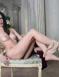 The Fire Of Her Lust Keeps Burning Brighter With Her Pussy Getting More And Wet With Every Second Of