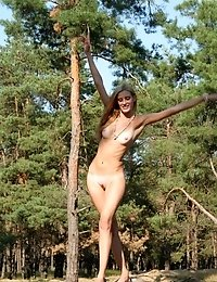 It Is Impossible Not To Feast Ones Eyes On This Astounding Nude Honey When She Id Wandering In Green