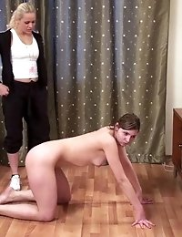 Bare weight loss exercises in a lesbian manner
