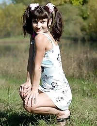 Hot Beauty Teen Knows That Her Sexy Smile And Much Sexier Body Will Bring You On Cloud Seven Of Exci